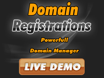 Popularly priced domain name registration services